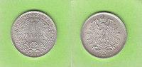 1 Mark 1876 D Kaiserreich Prachtexemplar, ...