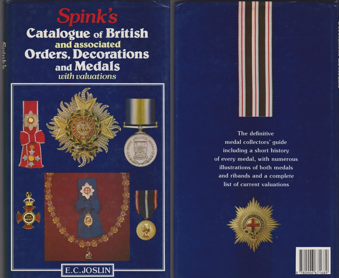 spink s catalogue of british orders groot brittannie ef ma shops