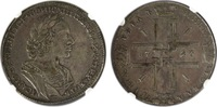 Rouble 1723 Russia  NGC VF35