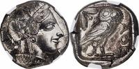 Ca. 454-404 Greece ATTICA. Athens. Silver...