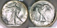 Half Dollar 1935-S USA Walking Liberty PCG...