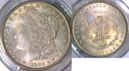 Morgan Dollar 1882 USA  PCGS MS 64+