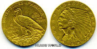 2 1/2 Dollars 1915 USA USA - 2 1/2 Dollars...