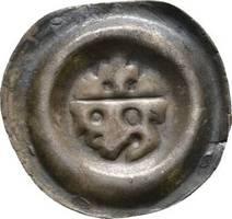 Brakteat 1247-1278 Mähren Premsyl II. Ottokar 1247-1278 Sehr schön