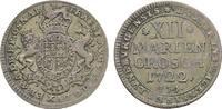 12 Mariengroschen 1722 JJJ Osnabrück Osnabrück, Bistum Ernst August II.... 265,00 EUR kostenloser Versand