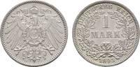1 Mark 1893 F Kleinmünzen  Winziger Randfehler, fast Stempelglanz  185,00 EUR kostenloser Versand