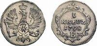 Kreuzer 1798 B Brandenburg-Preußen Friedrich Wilhelm III. 1797-1840 Vor... 39,00 EUR  +  5,00 EUR shipping