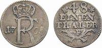 1/48 Taler 1765 F, Magdeburg Brandenburg-Preußen Friedrich II. 1740-178... 78,00 EUR  +  5,00 EUR shipping