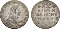 1/12 Taler 1754 C, Kleve Brandenburg-Preußen Friedrich II. 1740-1786 Se... 68,00 EUR  +  5,00 EUR shipping