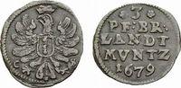 3 Pfennig 1679 CS Berlin Brandenburg-Preußen Friedrich Wilhelm 1640-168... 59,00 EUR  +  5,00 EUR shipping