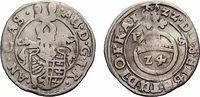 Anhalt-Zerbst 1/24 Taler Johann 1621-1667