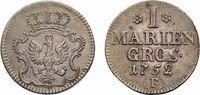 Mariengroschen 1752 F, Magdeburg Brandenburg-Preußen Friedrich II. 1740... 48,00 EUR  +  5,00 EUR shipping
