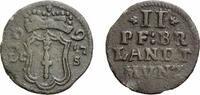 2 Pfennig 1695 LCS Berlin Brandenburg-Preußen Friedrich III. 1688-1701 ... 58,00 EUR  +  5,00 EUR shipping