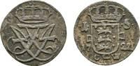 Skilling 1722 CW Kop Dänemark Friedrich IV...