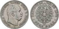 5 Mark 1876 A Preußen Wilhelm I. 1861-1888...
