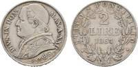 2 Lire 1867 (AN XX Italien-Kirchenstaat Pi...
