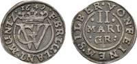 2 Mariengroschen 1649 Zeller Braunschweig-...