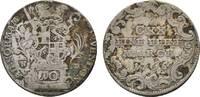 10 Kreuzer 1765 HM Fulda, Bistum Heinrich ...