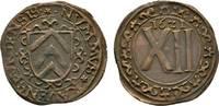 Cu 12 Pfennig 1621 Bielef Brandenburg-Preu...