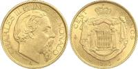 100 Francs Gold 1886  A Monaco Charles III 1856-1889. Vorzüglich  1600,00 EUR free shipping