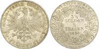 Doppeltaler 1854 Frankfurt-Stadt  Feine Patina. Winzige Kratzer, vorzüg... 370,00 EUR free shipping