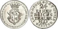 1/24 Taler 1753 Reuss-ältere Linie zu Unte...