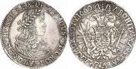Taler 1660 Haus Habsburg Leopold I. 1657-1705. Schöne Patina. Kratzer, ... 660,00 EUR free shipping