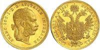 Dukat Gold 1887 Haus Habsburg Franz Joseph I. 1848-1916. Prachtexemplar... 370,00 EUR free shipping