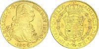 8 Escudos Gold 1806 Mexiko Carlos IV. 1789...