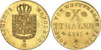 10 Taler Gold 1810  B Westfalen, Königreich Hieronymus Napoleon 1807-18... 4150,00 EUR free shipping