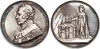 Silbermedaille 1866 Niederlande-Königreich...