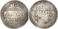 Breiter Taler 1661  M Münster-Bistum Chris...