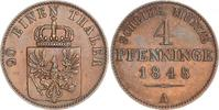 4 Pfennig 1848  A Brandenburg-Preußen Friedrich Wilhelm IV. 1840-1861. ... 35,00 EUR  +  6,00 EUR shipping