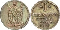 Pfennig 1726 Braunschweig-Calenberg-Hannover Georg I. 1714-1727. Kleine... 40,00 EUR  +  6,00 EUR shipping