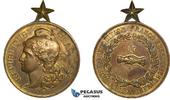 Bronze Medal 1892 France Boulogne Sur Mer,...