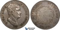 5 Francs AN XI France Napoleon I, Paris vz