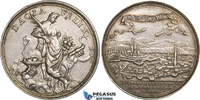Silver Medal 1692 Transylvania Grosswardei...