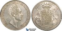 Riksdaler Specie 1848 Sweden Oscar I vz