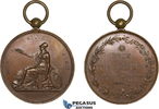 Bronze Medal 1816 France Soreze School, Ow...