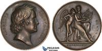 Bronze Medal 1837 Denmark Albert Thorwalds...