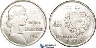 Peso 1934 Cuba  unz