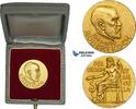 Gold Medal 1910 Germany Robert Koch, Nobel...