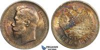 Rouble 1896 Russia Nicholas II vz+