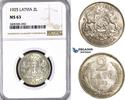 2 Lati 1925 Latvia  vz/st