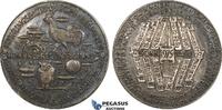 Silver Medal 1975 Austria Calendar, Owl vz