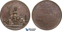 Bronze Medal ND 1830-50 France Geography S...