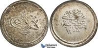1 1/2 Kurush 1255/5 Ottoman Turkey Abdülme...