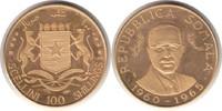 100 Schillings 1965 Somalia Republik Gold ...