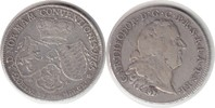 1/2 Taler 1765 Pfalz-Sulzbach Karl Theodor 1/2 Taler 1765 AS, Mannheim ... 230,00 EUR  +  5,00 EUR shipping