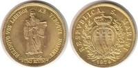 Scudo 1974 Italien San Marino Gold Scudo 1...